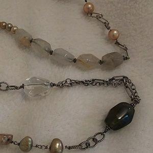 Silpada Jewelry - Silpada pearl/sterling necklace